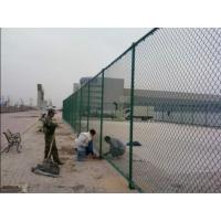 室外安全防护围网,框架围栏勾花网,锌钢浸塑防护栏