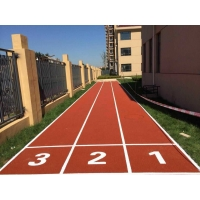 塑胶跑道操场施工-深圳市健宇体育15年以上一线施工经验