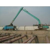 神鋼330-24米加長臂定做 挖掘機地鐵深坑工程
