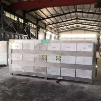 森海304不锈钢废气吸附箱6万风量活性炭吸附过滤箱现货