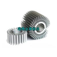 灯饰散热器铝型材厂家,工业散热器铝合金挤压,铝挤散热器定制