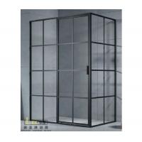 乐享双移一字型淋浴房 LEX-1007