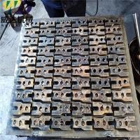 加工定制垫块砖机模具-液压全自动免烧砖机配套模具