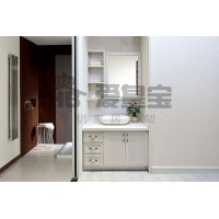 全铝家居定做生产全铝浴室柜 仿实木家居型材