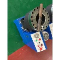 高壓鋼絲膠管壓管機 大棚鍍鋅管扣管機 建筑工地鋼管壓管機