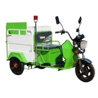 带棚单桶垃圾车 240l电动三轮垃圾车 环卫城市建设带棚清运