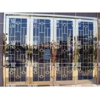 不锈钢门不锈钢防盗门大门双开门单门家用酒店安全门